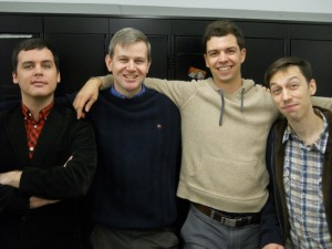Picture of the GHSA Movember team