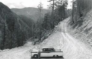 Bella Coola, Freedom Hwy, big hill, 1950s