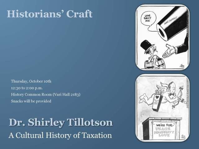 Poster for Historians' Craft