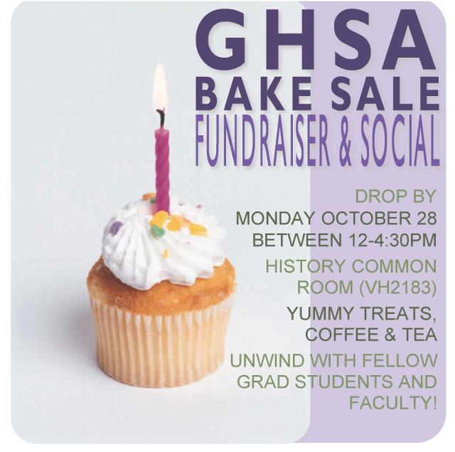 GHSA Bake Sale!